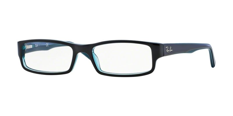 97e6c5fd7d ray-ban vista 0rx5246 5092 black grey turquoise